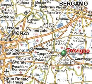 Come Raggiungerci a Treviglio